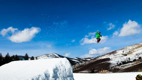 Thule Telemark Big Air Royalty Free Stock Photography