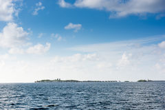 Thulusdhoo Maldive Fotografia Stock Libera da Diritti