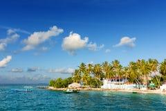 Thulusdhoo Maldive Immagine Stock