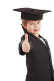 Thumb. Portrait of a styled children. Theme: art, education, school Stock Images