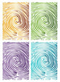 Thumb Abstract Background. This abstract background in various color combinations Stock Photography