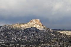 Thumb Butte Prescott Arizona Landscape Stock Image