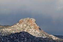 Thumb Butte Prescott Arizona in Winter Royalty Free Stock Photography