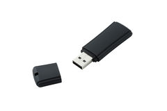 Thumb drive isolated Royalty Free Stock Photos