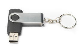 Thumb Drive on White background Royalty Free Stock Photo