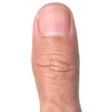 Thumb finger Stock Photography