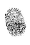 Thumb fingerprint Royalty Free Stock Image