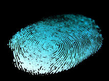 Thumb print. Image Stock Images