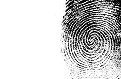 Thumb print Stock Image