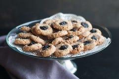 Thumb Print Cookies Stock Photos