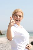 Thumb's up Royalty Free Stock Photos