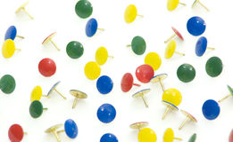 Thumb Tacks Royalty Free Stock Photography