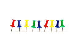 Thumb-tacks Stock Photography