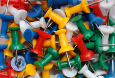 Thumb Tacks Stock Photography