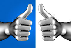 Thumb up! Royalty Free Stock Photos