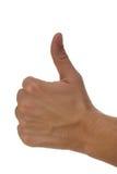 Thumb up Royalty Free Stock Photography