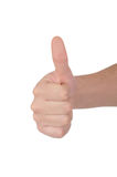 Thumb up! Stock Photography