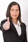 Thumb-up Stock Photography