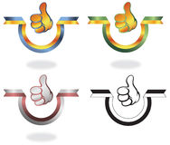 Thumb Up Banner Stock Images