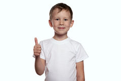 Thumb up! Royalty Free Stock Photography