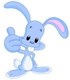 Thumb up bunny stock illustration
