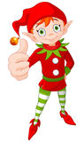 Thumb Up Christmas Elf Royalty Free Stock Images