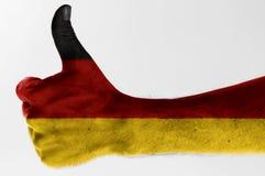 Thumb up germany Royalty Free Stock Photography