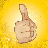 Thumb Up Gesture Royalty Free Stock Image