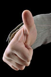 Thumb up Gesturing OK Stock Photography