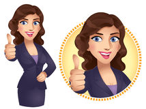Thumb Up Girl Stock Photo