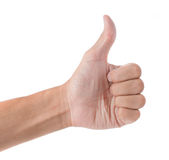 Thumb up Royalty Free Stock Photo