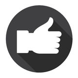 Thumb Up Hand Gesture Like Icon Royalty Free Stock Photo