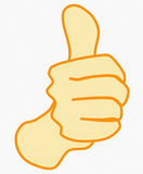 Thumb-up icon Royalty Free Stock Images