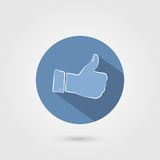 Thumb up icon Royalty Free Stock Photography