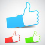 Thumb Up Icons Stock Photos