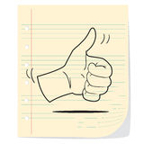 Thumb Up Illustration Stock Photo