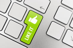 Thumb Up Like Button  Royalty Free Stock Image