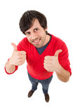 thumb up man Stock Images
