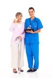 Thumb up medical Stock Photography