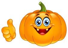 Thumb up pumpkin Royalty Free Stock Photography