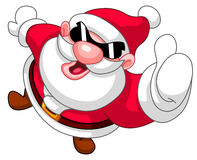 Thumb up Santa Royalty Free Stock Image