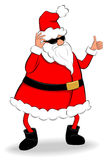 Thumb up Santa Stock Photo