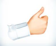 Thumb up sign Stock Photos