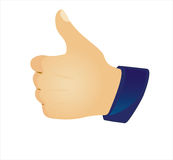 Thumb up Royalty Free Stock Image