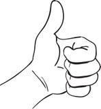 Thumb up Royalty Free Stock Photo