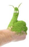 Thumb up on white Royalty Free Stock Photo