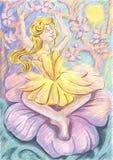 Thumbelina ελεύθερη απεικόνιση δικαιώματος