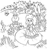 Thumbelina Royalty Free Stock Image