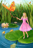 Thumbelina Stock Images