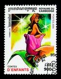 Thumbelina, serie d'histoires du ` s d'enfants, vers 2000 Photographie stock libre de droits